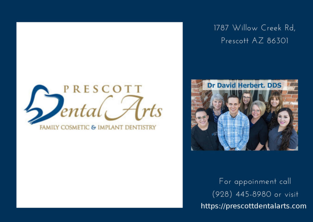Prescott Dental Arts logo, Prescott Dental Arts Team, Dentist Prescott Address